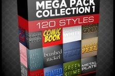 Photoshop Styles Mega Pack Collection 1