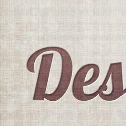 Retro Linen Textured Letterpress Graphic Source Files