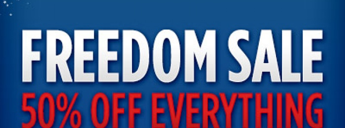 Stock Up Before It's Too Late - Freedom Sale Ends Soon