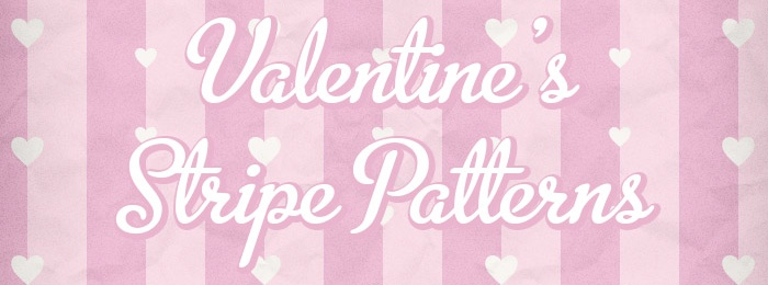 Striped Hearts Valentine's Pattern Pack