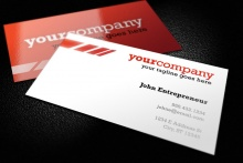 Clean and Colorful Business Card Template