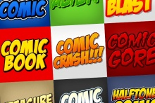 Comic Book Cartoon Styles Pack